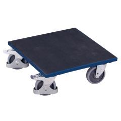 VARIOfit Kistenroller mit Riefengummi und Radfeststeller 500x500mm