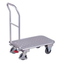 VARIOfit Klappbügelwagen mit Schiebebügel aus Aluminium