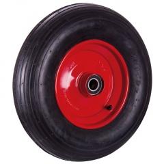 VARIOfit Mehrpreis für Luftrad, Paar mit Rillenprofil 300kg Traglast 400x100mm