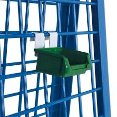 VARIOfit Materialkiste, grün 105x85x45mm für Werkstückwagen