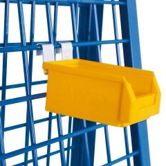 VARIOfit Materialkiste, gelb 105x160x75mm für Werkstückwagen