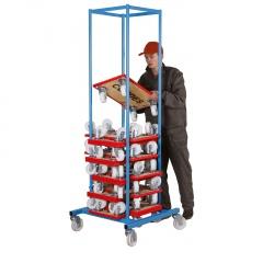 VARIOfit Möbelhundsammler aus Stahl 250kg Tragkraft