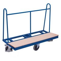 VARIOfit Plattenwagen mit einseitiger Ladefläche und rhombischer Rollenanordnung