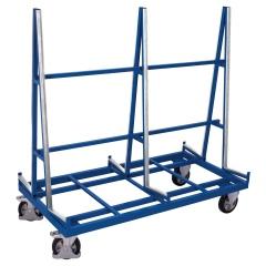 VARIOfit Plattenwagen mit zweiseitiger Ladefläche und 1200kg Tragkraft