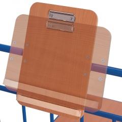 VARIOfit Schreibtafel aus Holz DIN A4 Format