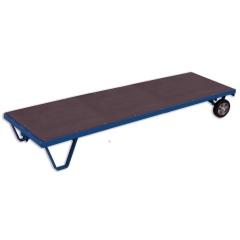 VARIOfit Schwerlast -Rollplatte bis zu 3t Tragkraft Elastik/ Polyurethan