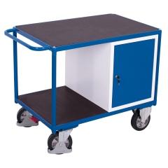VARIOfit Schwerlast Werkstattwagen mit Schrank und 2 Ladeflächen