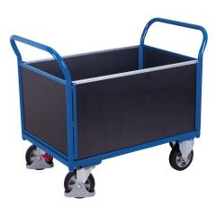 VARIOfit Vierwandwagen mit Siebdruckplatte 1000kg Tragkraft