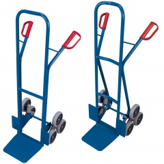 VARIOfit Treppenkarre 200kg Tragkraft mit 2 dreiarmigen Radsternen