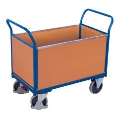 VARIOfit Vierwandwagen mit Holzwänden