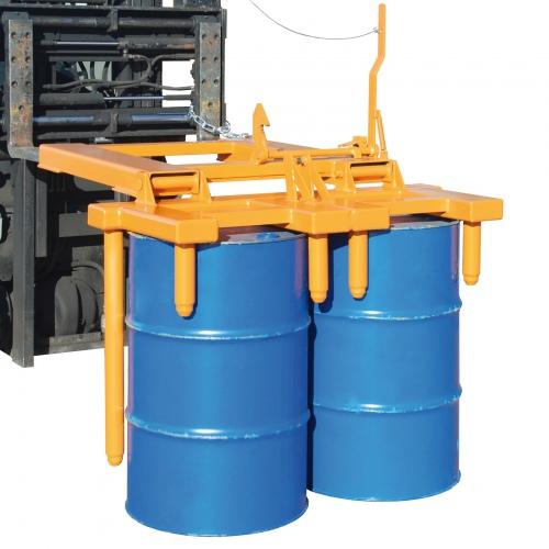 Bauer Fasswender FW-I/II für 1-2 Fässer zum Aufrichten und Hinlegen