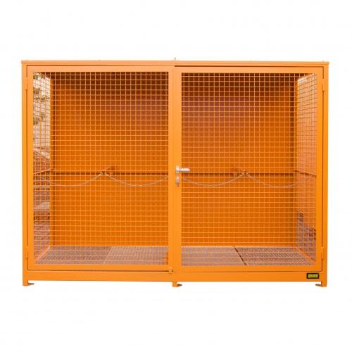 Bauer Gasflaschen-Container GFC-1/2 mit Boden nach TRGS 510