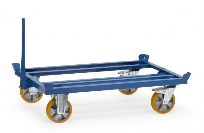 Fetra Paletten Fahrgestell als Routenzug für Gitterboxen und Flachpaletten
