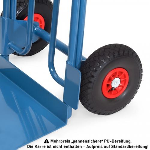 Fetra PU-Bereifung Pannensicher 260x85mm Mehrpreis für 2 Stück