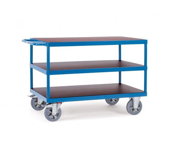 Fetra Super-MultiVario-Transporter Tischwagen mit 3 Etagen