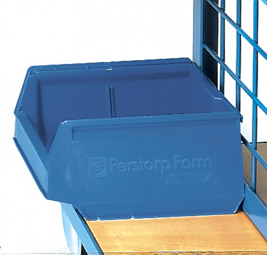 Fetra Sichtlagerkasten für Werkstückwagen