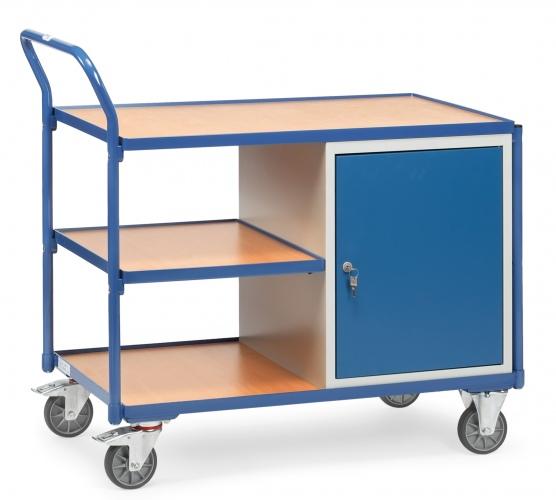 Fetra Werkstattwagen mit Schrank und 3 Ladeflächen