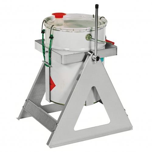 Kongamek Fassausgießer in grau 285x280x410mm für 20-25l Rundbehälter