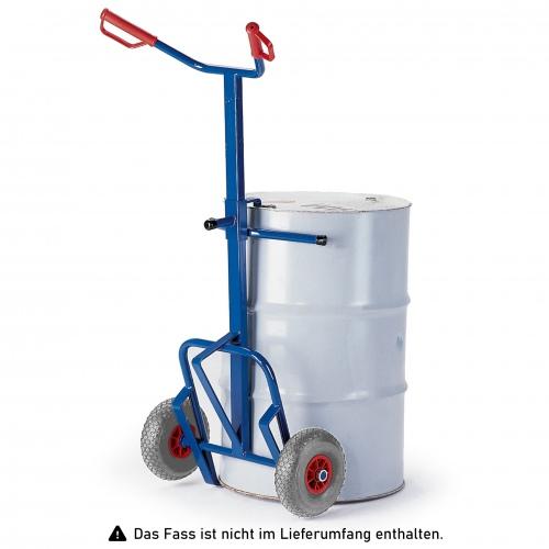 Rollcart Fasskarre 700x350mm Vollgummi/Luft
