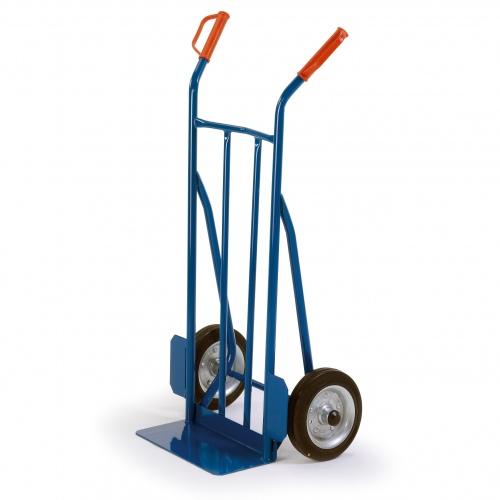 Rollcart ESD-Sackkarre -960- mit 400mm Schaufelbreite und 250kg Tragkraft Vollgummi