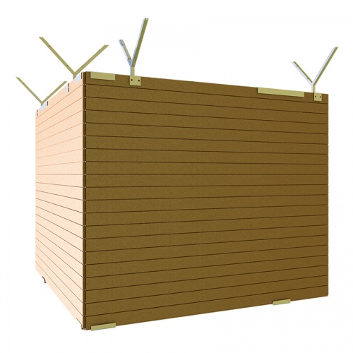 Schake Holz-Mobilzaun aus Massivholz 2,5x2,0m