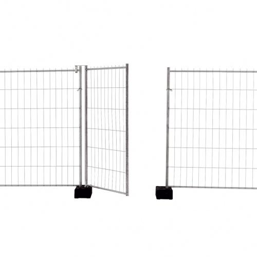 Schake Mobilzaun Standard Torelement 1,2x2m
