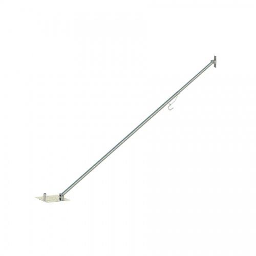 Schake Stützstrebe 4m für übereinander gesetzte Mobilzäune Trapez