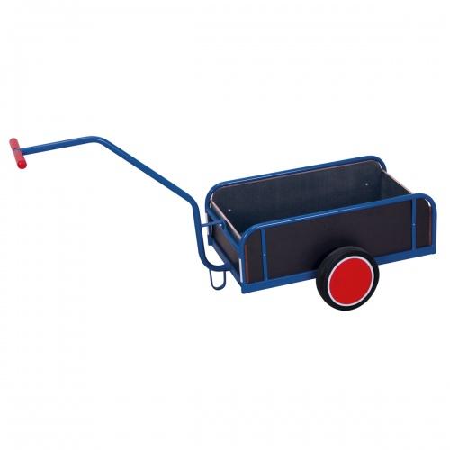 VARIOfit Handwagen mit Bordwand und Vollgummibereifung 825x535mm
