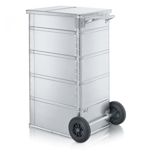 Zarges fahrbarer Transport- und Sammelbehälter