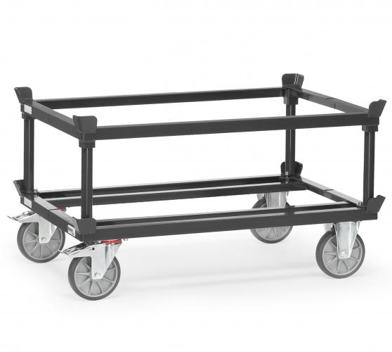 Fetra Aufsetzrahmen für Paletten-Fahrgestelle Grey Edition
