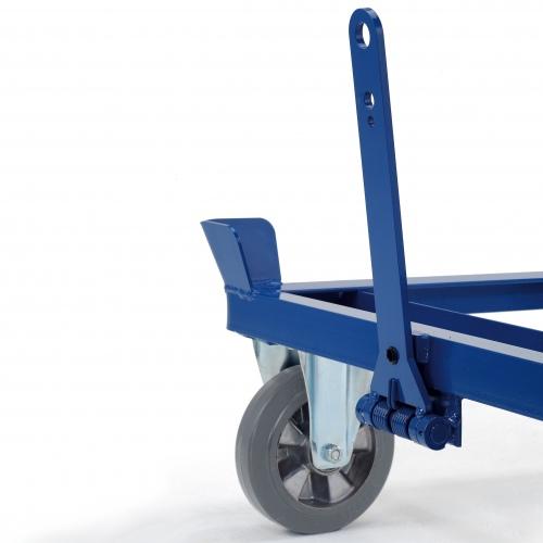 Rollcart Mehrpreis verschweißte Deichsel + Kupplung für Fahrrahmen