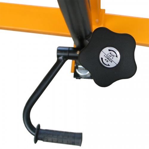 qteck Fassheber mit 780-1680mm Hubbereich und 300kg Hubkraft