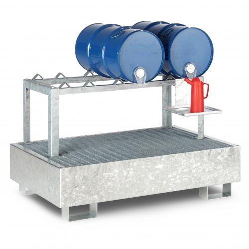 R+R Industrietechnik Auffangwanne RSW bis 12x200l-Fässer