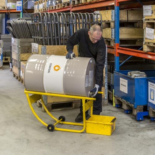 Kongamek Fasssackkarre 620x655x580mm für 200l-Fässer 200kg Tragkraft