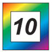 In 10 Farben erhältlich