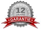 12 Jahre Garantie